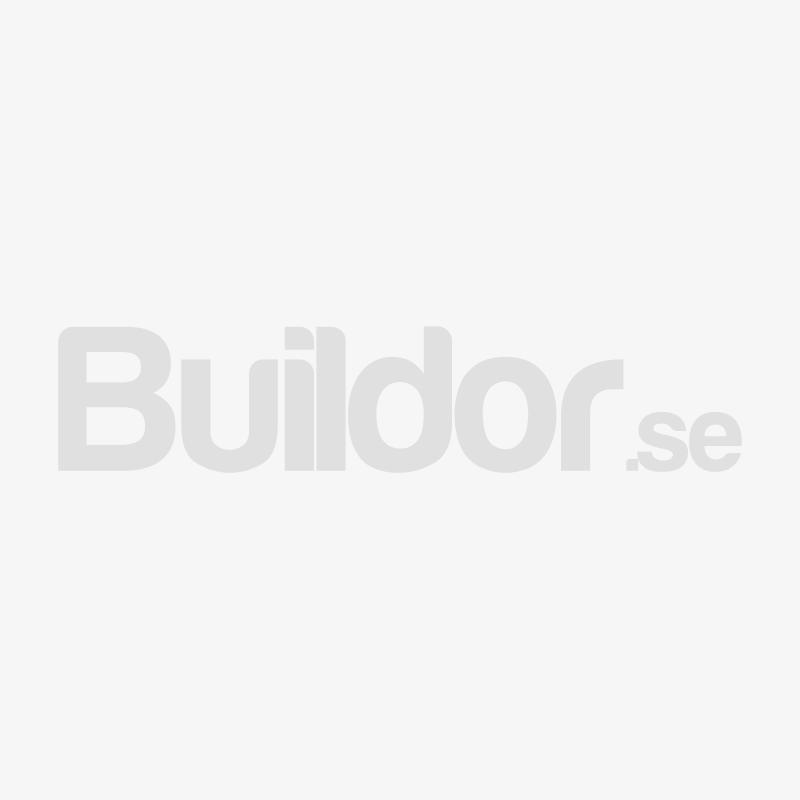 Habo Klädhängare Curve Vit/Matt Nickel